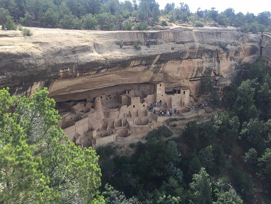 Mancos, CO : Spectacular cliff dwellings at Mesa Verde
