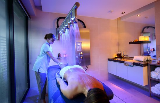Relax with a Vichy Shower at One Spa Noosa