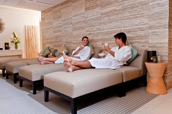 One Spa Noosa relaxation lounge