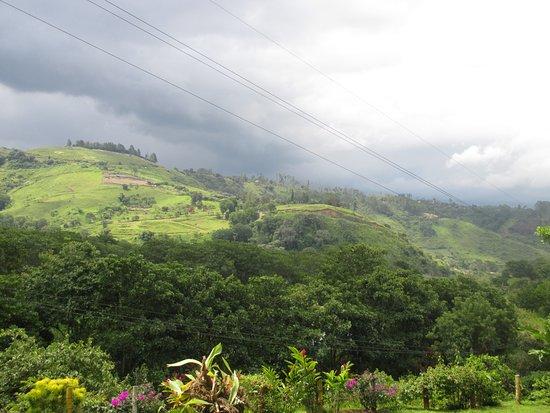 Orosi, Costa Rica: Vista desde el Jacuzzi