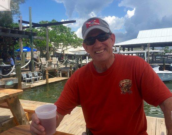 Cortez, FL: My hubby was sure happy!