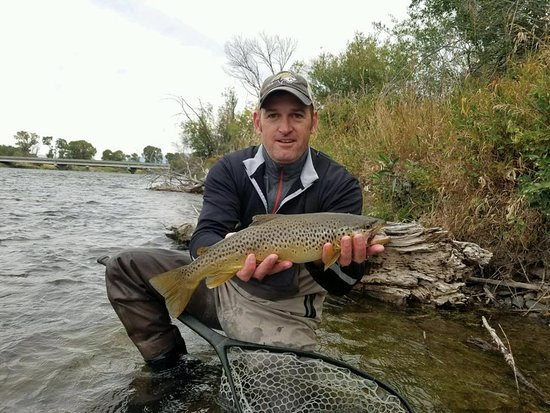 Sheridan, MT: first fish on a fly