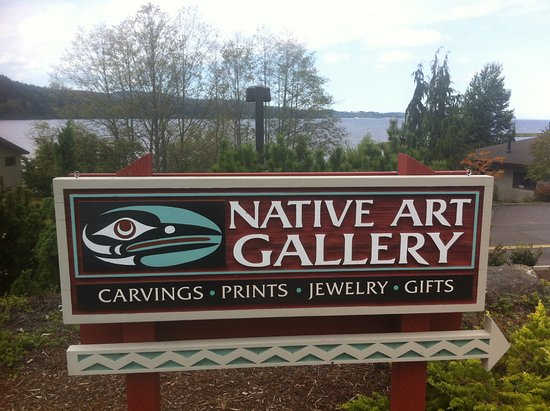 Sequim, WA: Hand made signage