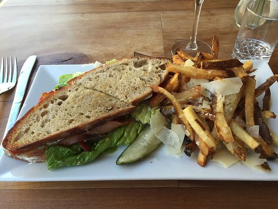 Duo Bistro: BALT with Parmesan herb fries
