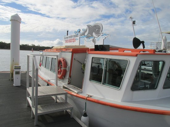 Tin Can Bay, Australia: Our cruise boat