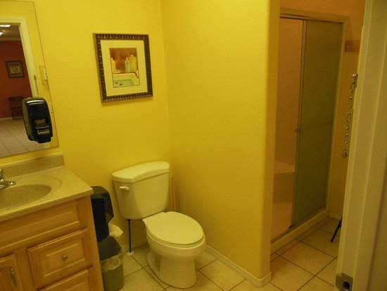 Challis, ID: 1 of 3 restrooms - all with showers