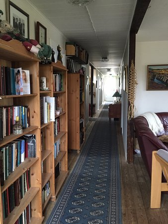 Kjorvogur, Islanda: hallway