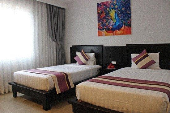Lavender Hotel: Deluxe room