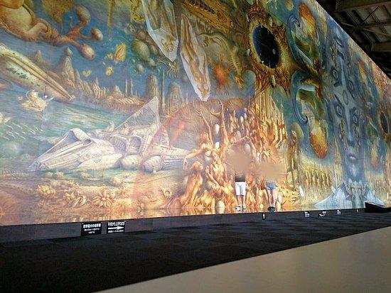 Niikappu-cho, Japan: 世界最大の油絵