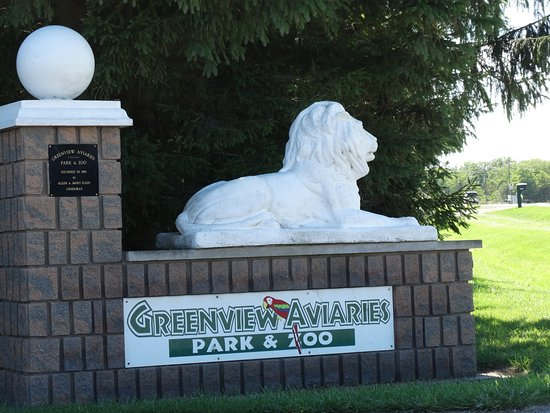 Ridgetown, Kanada: Greenview Avaries and Zoo.