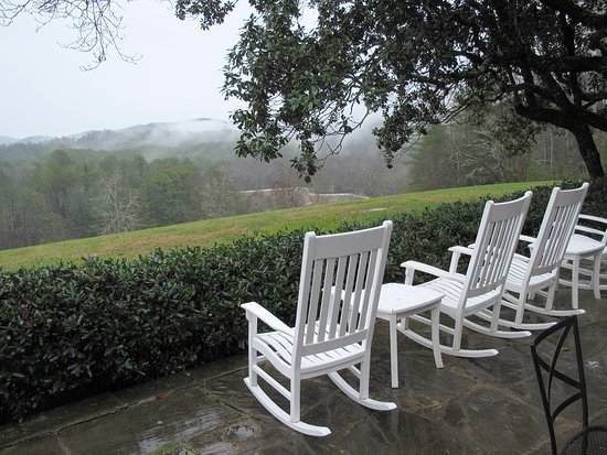 Blackberry Farm: Main House Patio - Outside the Dogwood Bar. Great Place for a Drink, or to Relax