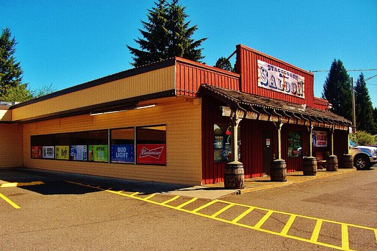 Fairview, OR: stagecoach saloon