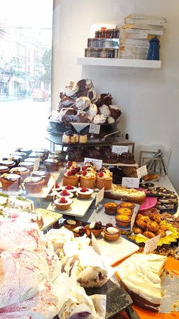 Ottolenghi - Islington: A wonderful selection of deserts