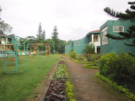 The resort picture of aptdc haritha valley resort - Araku valley resorts with swimming pool ...
