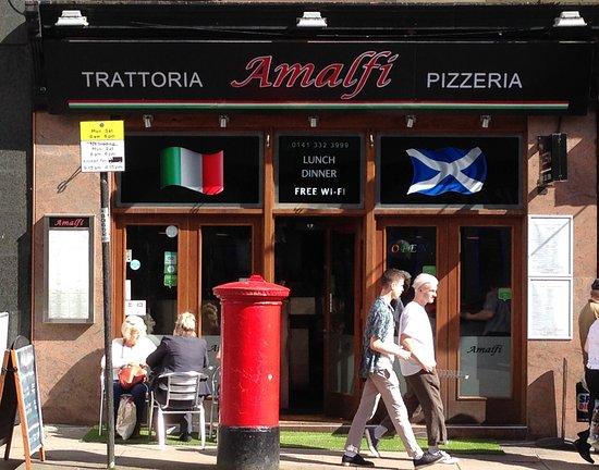 Amalfi Glasgow Exterior