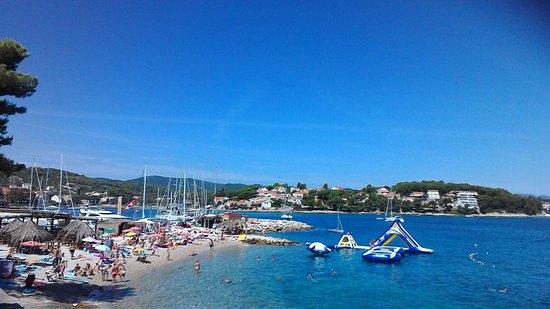Lumbarda, Kroatien: 席からの景色