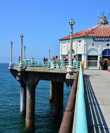 แมนฮัตตันบีช, แคลิฟอร์เนีย: nice Concrete pier