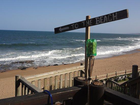 Protea Hotel Durban Umhlanga: Playa de Ballito a pocos Km al norte de Umhlanga