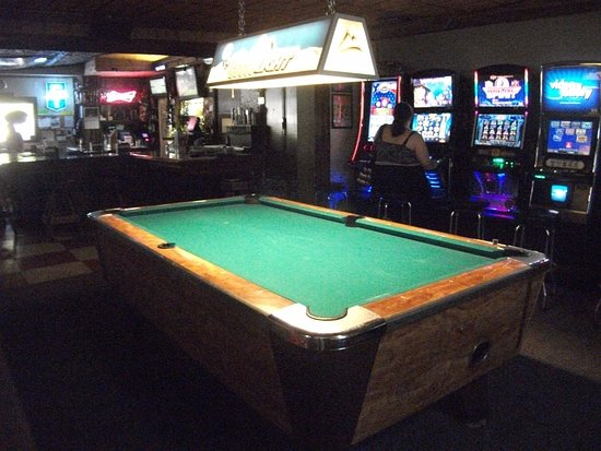 One Pool Table And Five Video Poker Machines Picture Of Springdale - Springdale pool table