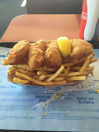 Alaska Halibut House: Went for fresh Alaskan Halibut, was not disappointed with the Halibut? Had fast service they als