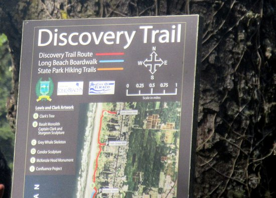 Ilwaco, WA: Discovery Trail, Cape Disappointment State Park, Washington