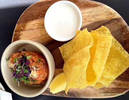 North Beach, Австралия: Thai flavored Salmon tartar