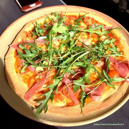 North Beach, Australien: prosciutto pizza