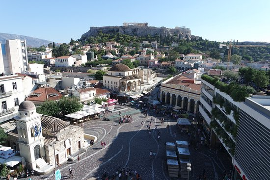 A for Athens: view from rooftop