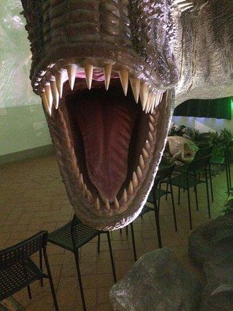 Calci, إيطاليا: bocca con denti