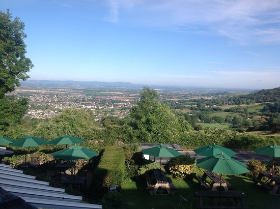Cleeve Hill, UK: Lovely view, room 15