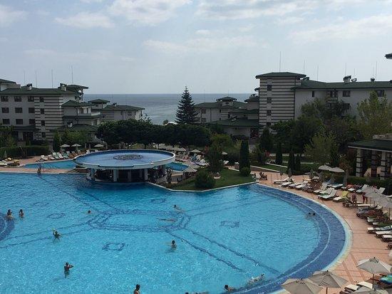 Emerald Beach Resort & Spa: Вид с террасы номера D301