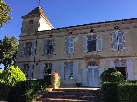 Château de Degrés : Le chateau