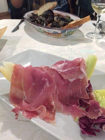Vettica, Italien: dinner
