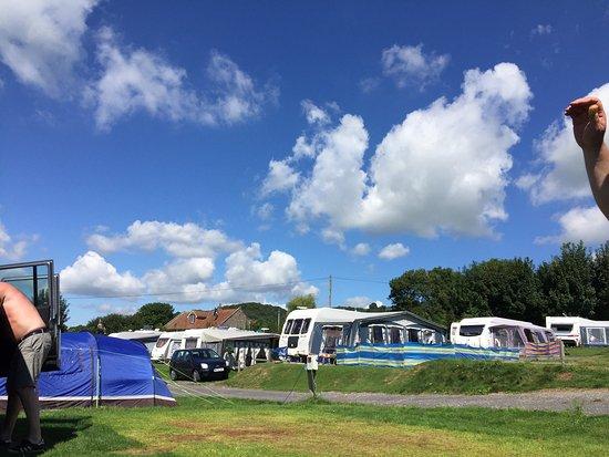 Cheddar, UK: Bucklegrove caravan and camping park