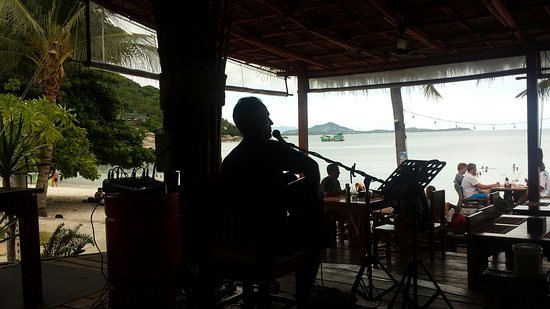 Crystal Bay Yacht Club: Talay Beach Restaurant
