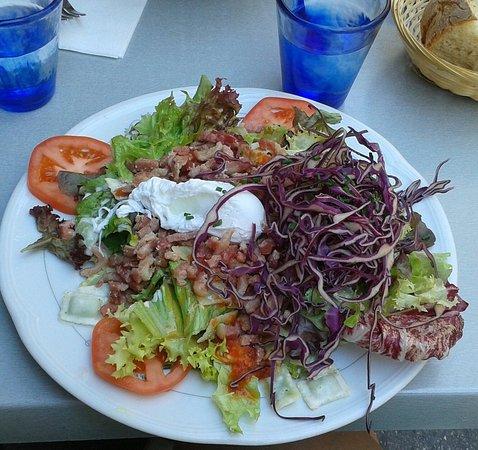 Salade De Ravioles Photo De Le Jardin De Berthe Lyon Tripadvisor