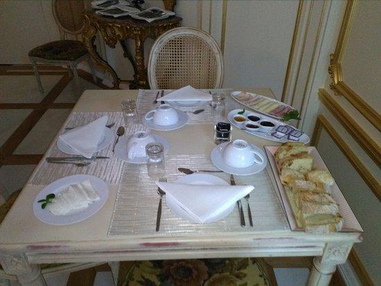Santa Comba Dao, Portugal: Pequeno almoço