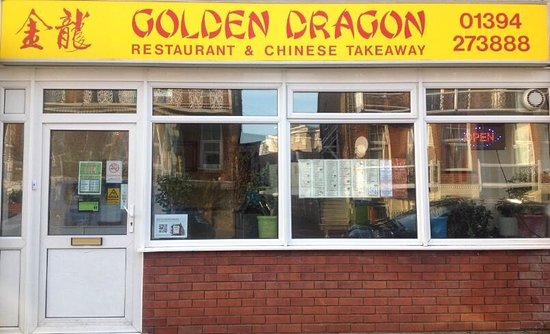 Felixstowe, UK: Golden Dragon