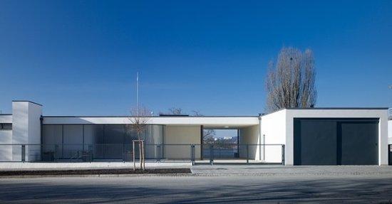 Brno: Villa Tugendhat di Mies - Fronte interno