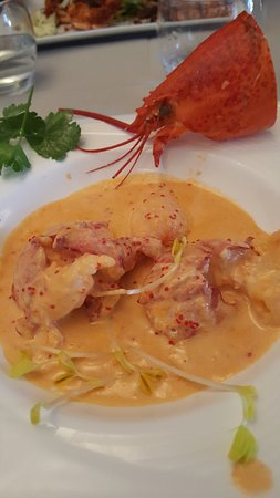 Boudes, Francia: Homard au Noilly