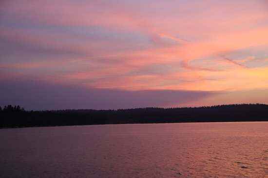 McCall, ID: Sunset from Payette Lake 2