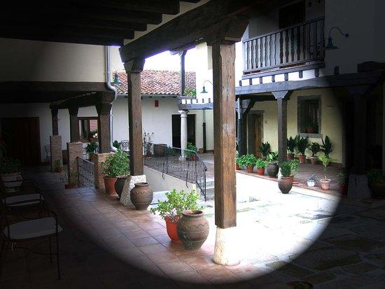 Abadia de Yuste: Patio