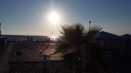 Licola, Italia: spiaggia