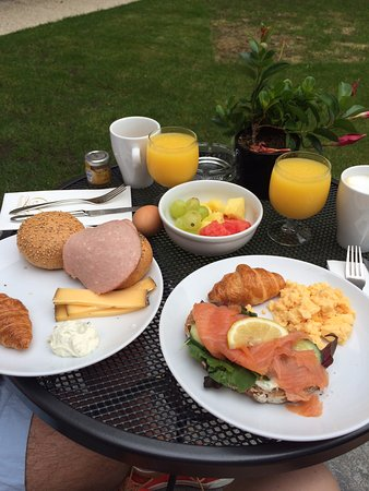 Sandton Grand Hotel Reylof: Ontbijt