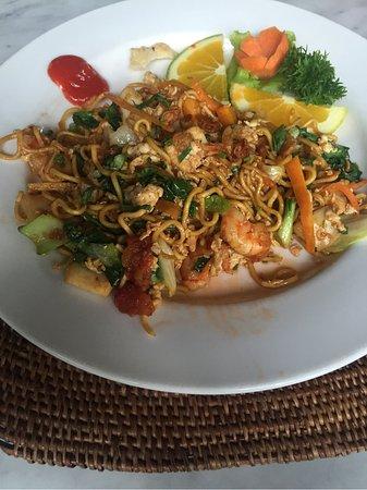 The Restaurant at Hanging Gardens Ubud, Bali: Dinner