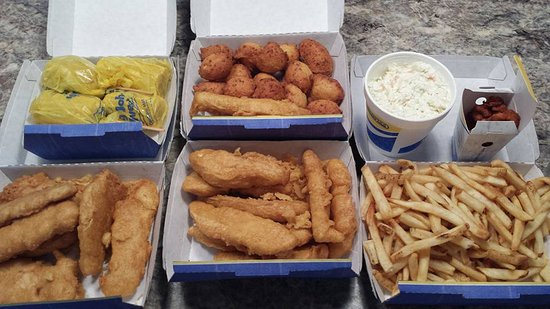 16 Pc Family Meal And Clams Picture Of Aw Restaurant Yukon