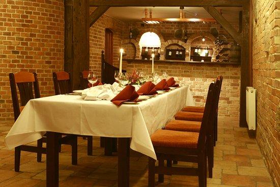 Winiarnia Picture Of Restaurant Hotel Mlyn Aqua Spa Elblag