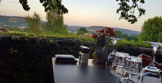 Pierrefitte-en-Auge, Francia: La vue de notre table