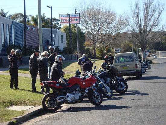 Lets go boys, Leaving Pambula heading for Tilba
