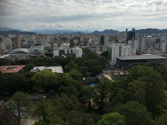 Kochi Castle: 高知城から見た景色1!